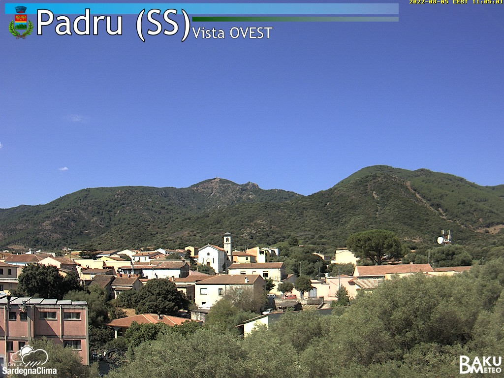 Webcam meteo PADRU